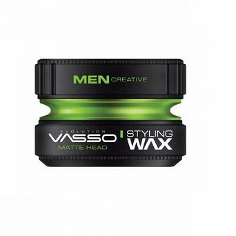 VASSO HAIR STYLING WAX MATTE HEAD 150 ML