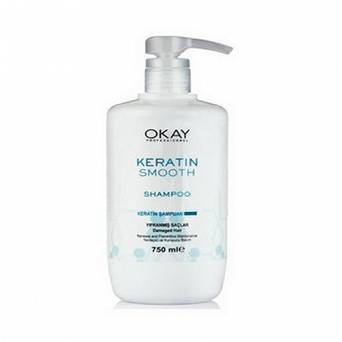 OKAY KERATIN SMOOTH SZAMPON 750 ML
