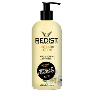 REDIST VANILLA HAND & BODY LOTION 400ML