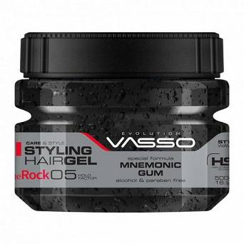 VASSO STYLING ŻEL DO WŁOSÓW THE ROCK 500 ML