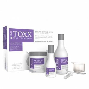 ZESTAW DO KRIOTERAPII WŁOSÓW HAIR TOXX FULL TREATMENT SZAMPON + MASKA + SERUM 2300ML